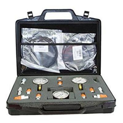 Koffer met 3 manometers en accessoires type 2