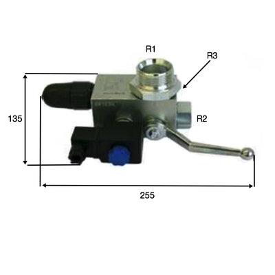 SB1E elektrisch/hand bediend veiligheidsblok