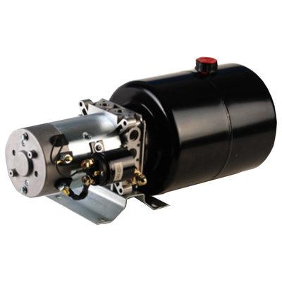 12V 0,5kw hydrauliek powerpack dubbelwerkend circuit