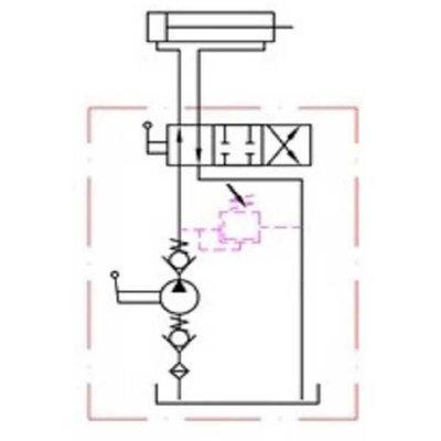 Handpomp 12cc dubbelwerkend (tank montage)