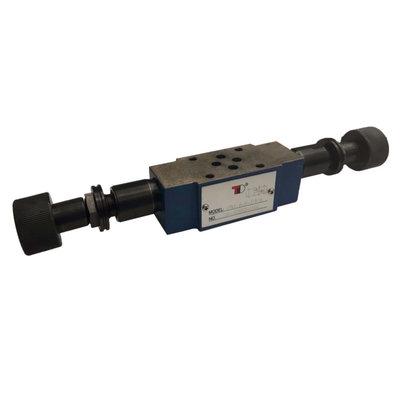 NG6 Hydraulisch overdruk tussenventiel in A en B 0-100 bar