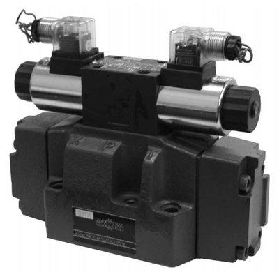 NG16 24V Cetop Elektrisch 4/3 stuurventiel, H-middenstand