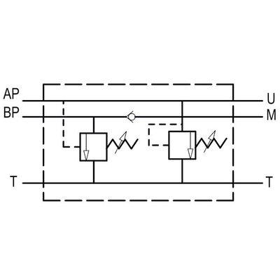 Hoge druk lage druk schakelventiel VABP FL6