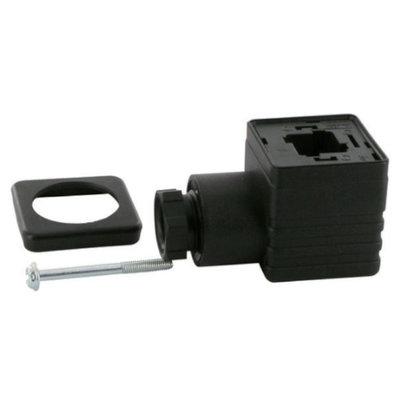 Stekker voor RAC magneetspoelen 230V