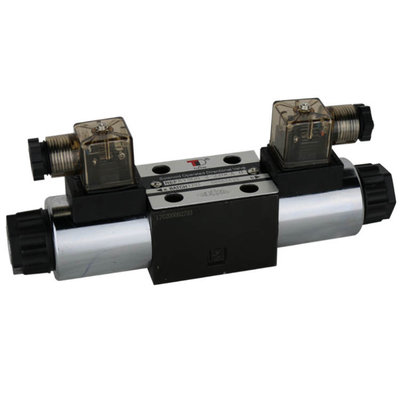 NG6 110V Cetop Elektrisch 4/3 stuurventiel, PT Verbonden AB Gesloten