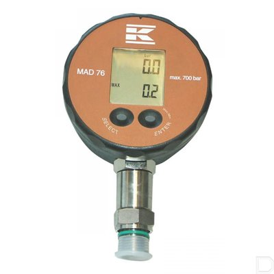 Beschermhoes digitale manometer 76mm