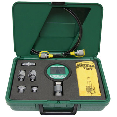 Digitale manometer set 0-600 bar