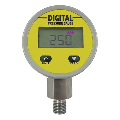 Digitale manometer 0-250 bar