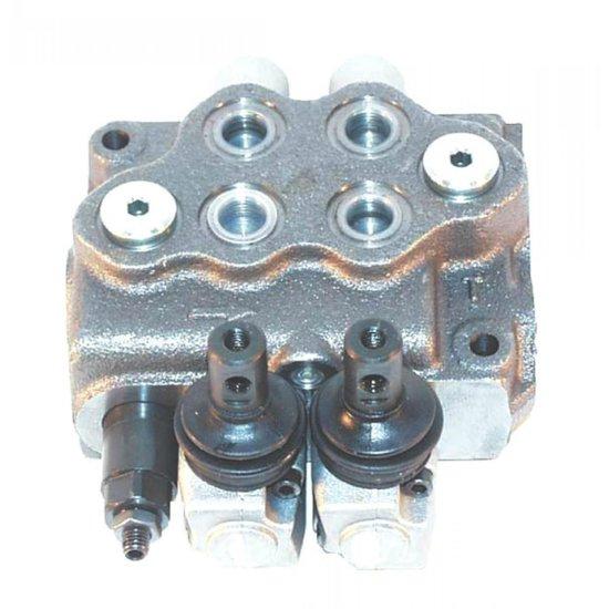 Afbeelding van Stuurventiel Walvoil 2 secties G3-18-18L-AE handbediend 45L/min