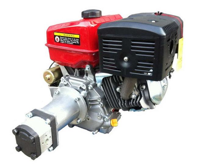 Afbeelding van PTM390pro benzinemotor met voor gemonteerde tandwielpomp pompgroep 2