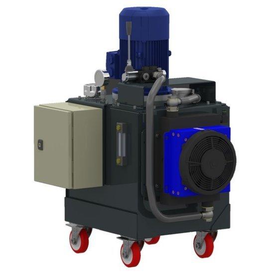 Afbeelding van 1 fase elektrisch hydraulische power unit 60 liter tank 230V