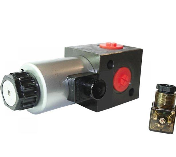 Afbeelding van 3-weg stuurventiel 3/4 BSP 100 l/min 12VDC