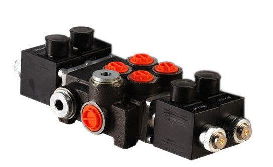 Afbeelding van 2Z50 2 sectie stuurventiel 50 L/min 12V elektrisch