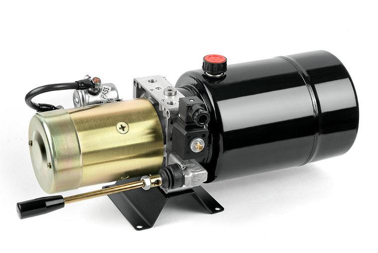 Afbeelding van 12V 1,5kw hydrauliek powerpack enkelwerkend circuit