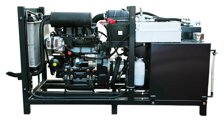 Afbeelding van PTMpro 34pk diesel powerpack