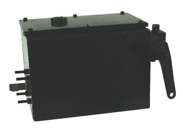 Afbeelding van PTO powerpack met 32cc plunjerpomp en 25L tank