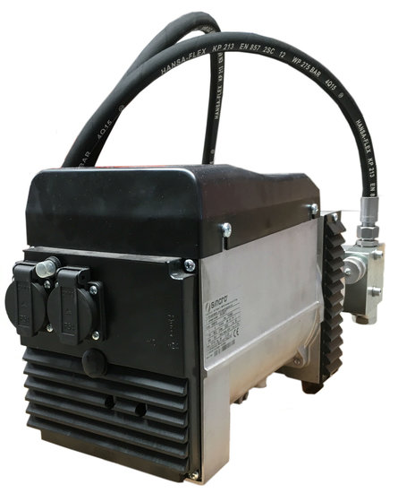Afbeelding van Hydrauliek stroomgenerator 6KVA 230V