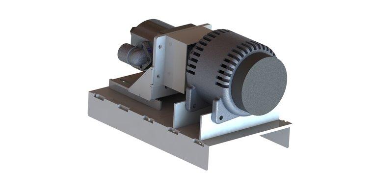 Afbeelding van Hydrauliek stroomgenerator 12V 100A