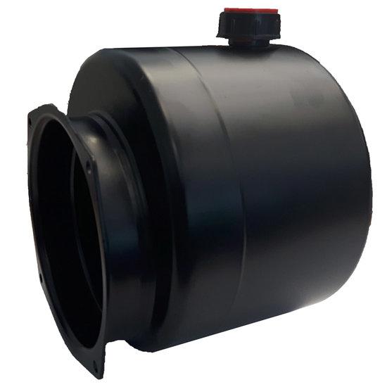 Afbeelding van Mini powerpack tank staal horizontaal 4 liter (niet standaard)