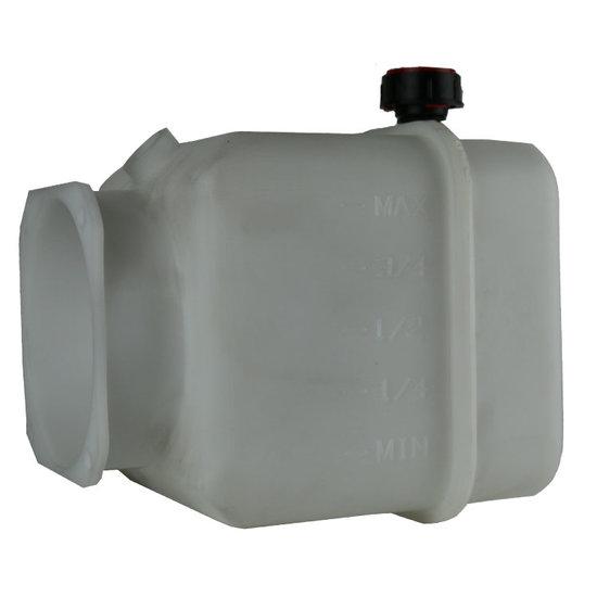 Afbeelding van Mini powerpack tank kunststof horizontaal 4 liter