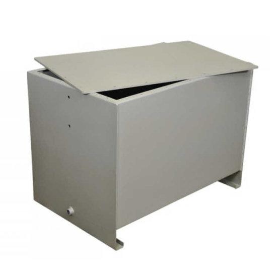 Afbeelding van Stalen hydrauliektank PSTM met deksel 225 liter