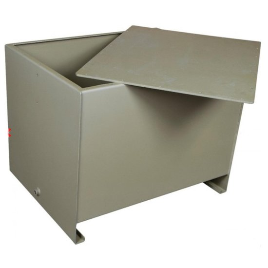 Afbeelding van Stalen hydrauliektank PSTM met deksel 300 liter