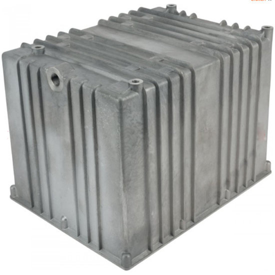 Afbeelding van Aluminium hydrauliektank NG zonder deksel 13 liter