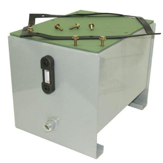 Afbeelding van Stalen hydrauliektank PSTM 300 liter complete set