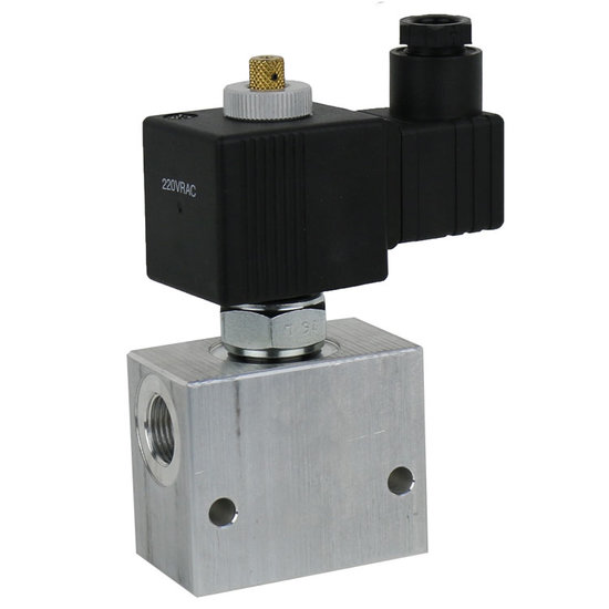 """Afbeelding van 2/2 hydrauliek klep NC double lock, 1/2"""" BSP, 24V"""