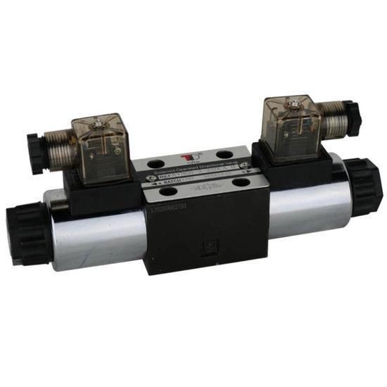 Afbeelding van NG6 24V Cetop Elektrisch 4/3 stuurventiel, H-middenstand