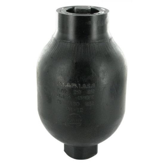 Afbeelding van Saip balgaccumulator type LA0.75 145-270 bar vuldruk st. 130 bar M18x1,5 aansluiting 0,75l