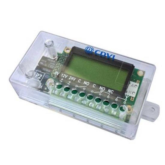 Afbeelding van Ontvanger 433 Mhz - 2 relais met display (100 zenders)