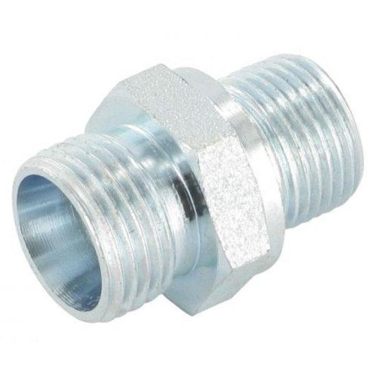 Afbeelding van M18x1,5 - 12L (M18x1,5) male inschroefkoppeling