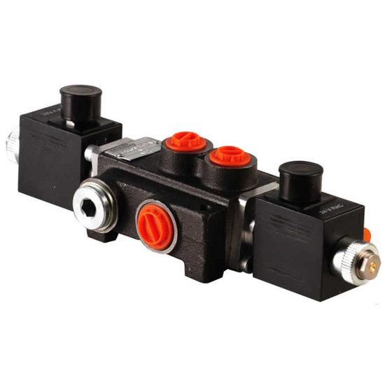 Afbeelding van 1Z80 1 sectie stuurventiel 80 L/min 12V elektrisch
