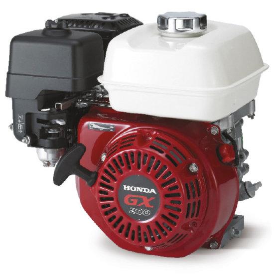 Afbeelding van HondaGX200 (QXE5) 6,5 pk Benzinemotor met voorgemonteerde tandwielpomp pompgroep 1