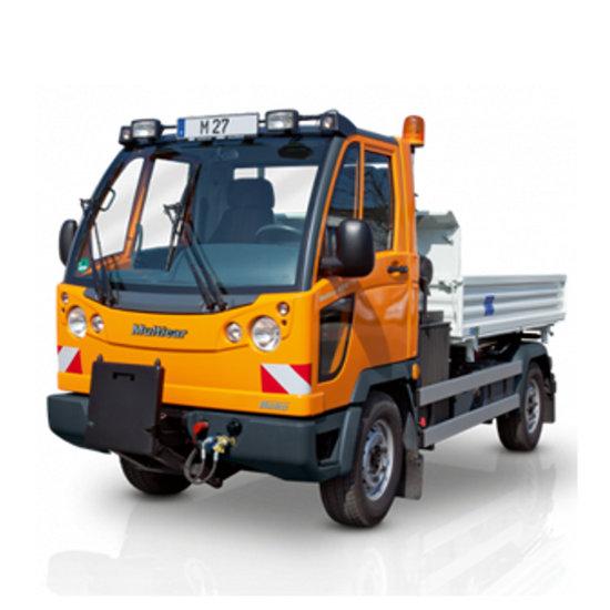 Afbeelding van PTO voor Multicar M27 / bouwjaar 2011 en later / zonder airco