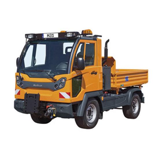 Afbeelding van PTO voor Multicar M | bouwjaar 2011 en later | zonder airco