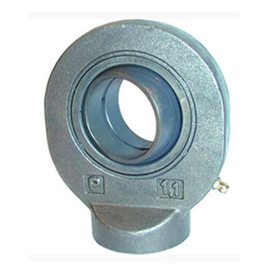 Afbeelding van HMB gelenkoog met binnendiameter 40 mm voor cilinder met boring Ø100 mm (Engels model)