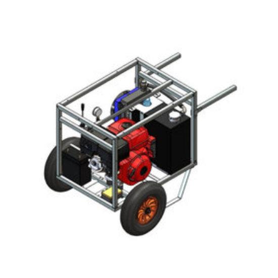 Afbeelding van Powerpack met 13 pk benzinemotor