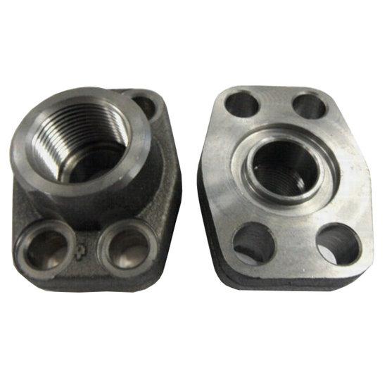 "Afbeelding van SAE schroefdraad flens (female) 1""1/4 BSP, 1""1/2 inch, 6000 PSI"