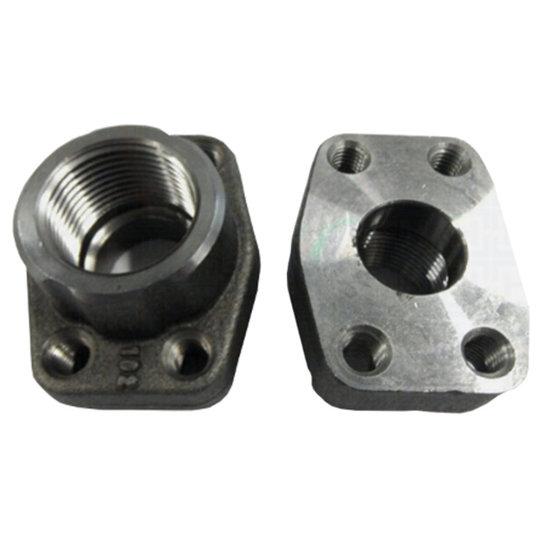 Afbeelding van SAE schroefdraad tegenflens (female) 2 BSP, 2 inch, 3000 PSI
