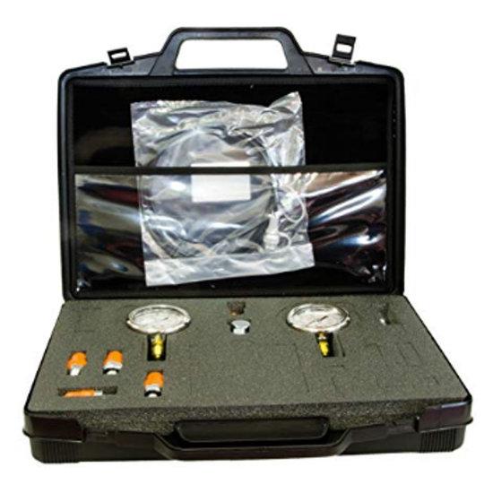 Afbeelding van Koffer met 2 manometers en accessoires type 1
