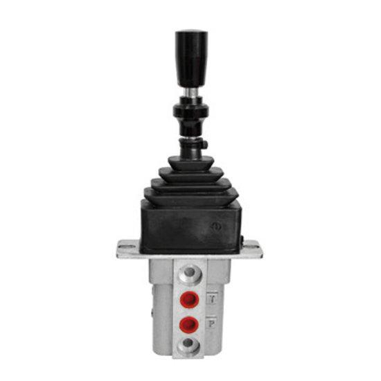 Afbeelding van Hydraulische joystick met vergrendeling 5-20 L/min