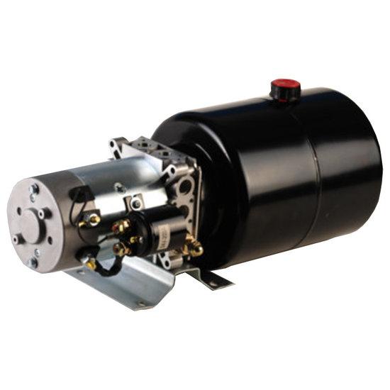 Afbeelding van 12V 0,5kw hydrauliek powerpack dubbelwerkend circuit