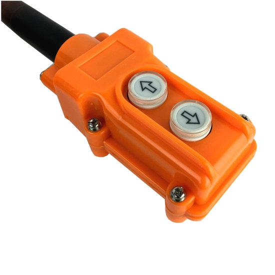 Afbeelding van Knoppenkast voor enkelwerkende powerpack 12V 2 knoppen