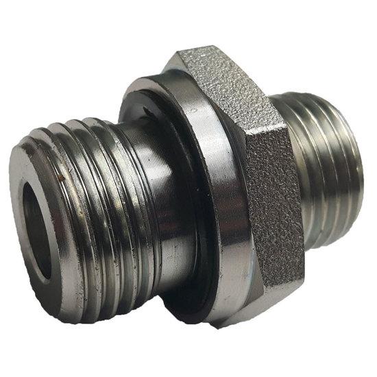 """Afbeelding van BSP 1/4""""-8S (M16x1,5) male inschroefkoppeling"""