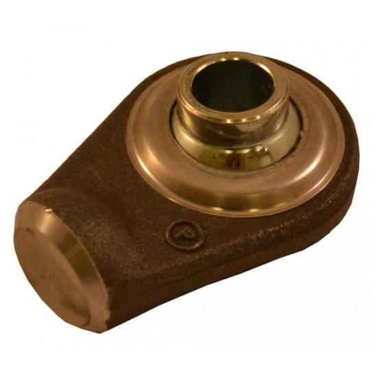 Afbeelding van HM1 topstangoog met binnendiameter 19 mm voor cilinder met stang Ø30 mm, breedte 44 mm