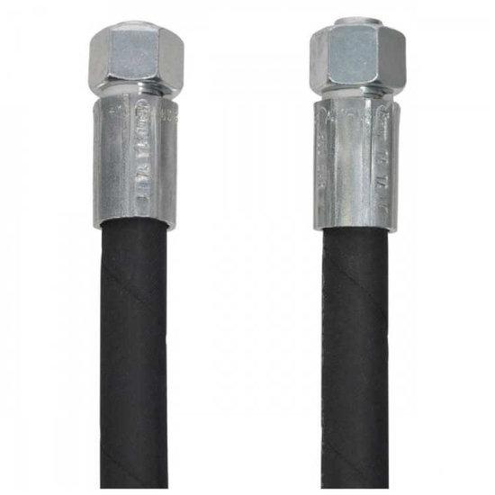"""Afbeelding van 1/2"""" hydrauliekslang 500 mm met 15L DKOL koppelingen"""