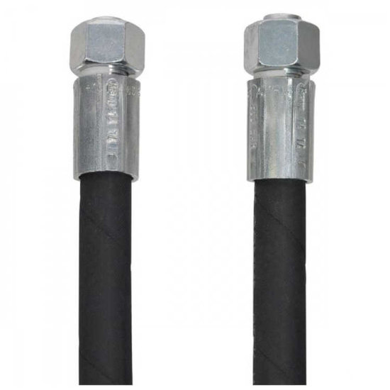 """Afbeelding van 1/2"""" hydrauliekslang 1500 mm met 15L DKOL koppelingen"""