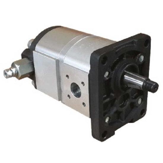 Afbeelding van 2-traps hydrauliek tandwielpomp 3,5 cc - 11 cc groep 2